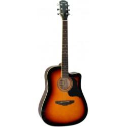 Galaxi GW-360 木吉他 GW360 民謠吉他 41吋