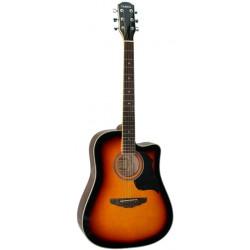 Galaxi GW-360EQ 木吉他 GW360EQ 民謠吉他 41吋
