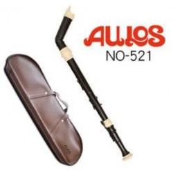 AULOS 521 低音直笛 521-E英式直笛(日本製造)