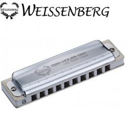 WEISSENBERG 1001 韋笙堡10孔藍調口琴(不鏽鋼)