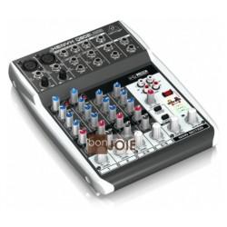 Behringer Q802USB 德國耳朵牌Q-802 USB XYENX系列8軌混音器