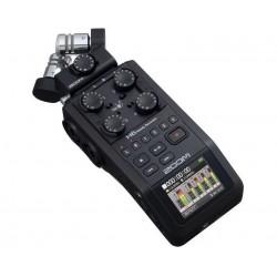 ZOOM H6 BLACK 手持數位錄音機H-6錄音筆 收音立體聲