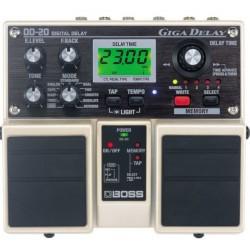 BOSS DD-20 民謠吉他/電吉他 數位延遲雙踏板DD20效果器