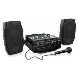 Behringer PPA200 德國耳朵牌PPA-200攜帶式PA喇叭擴大機組