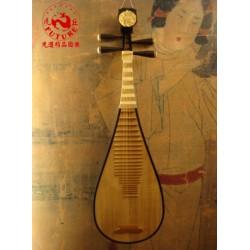 琵琶-上海牡丹頭琵琶(紫檀軸)