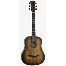 Soldin SA-3400A 羽毛木擦色系列SA3400A 旅行吉他 34吋