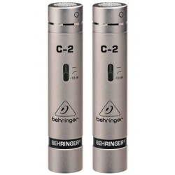 BEHRINGER C-2 錄音室電容式麥克風 耳朵牌C2 (一對2支)