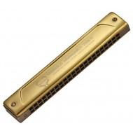 WEISSENBERG 2206Ti-TG 特級款22孔韋笙堡2206Ti TG堡純鈦金屬複音口琴(尊貴金)